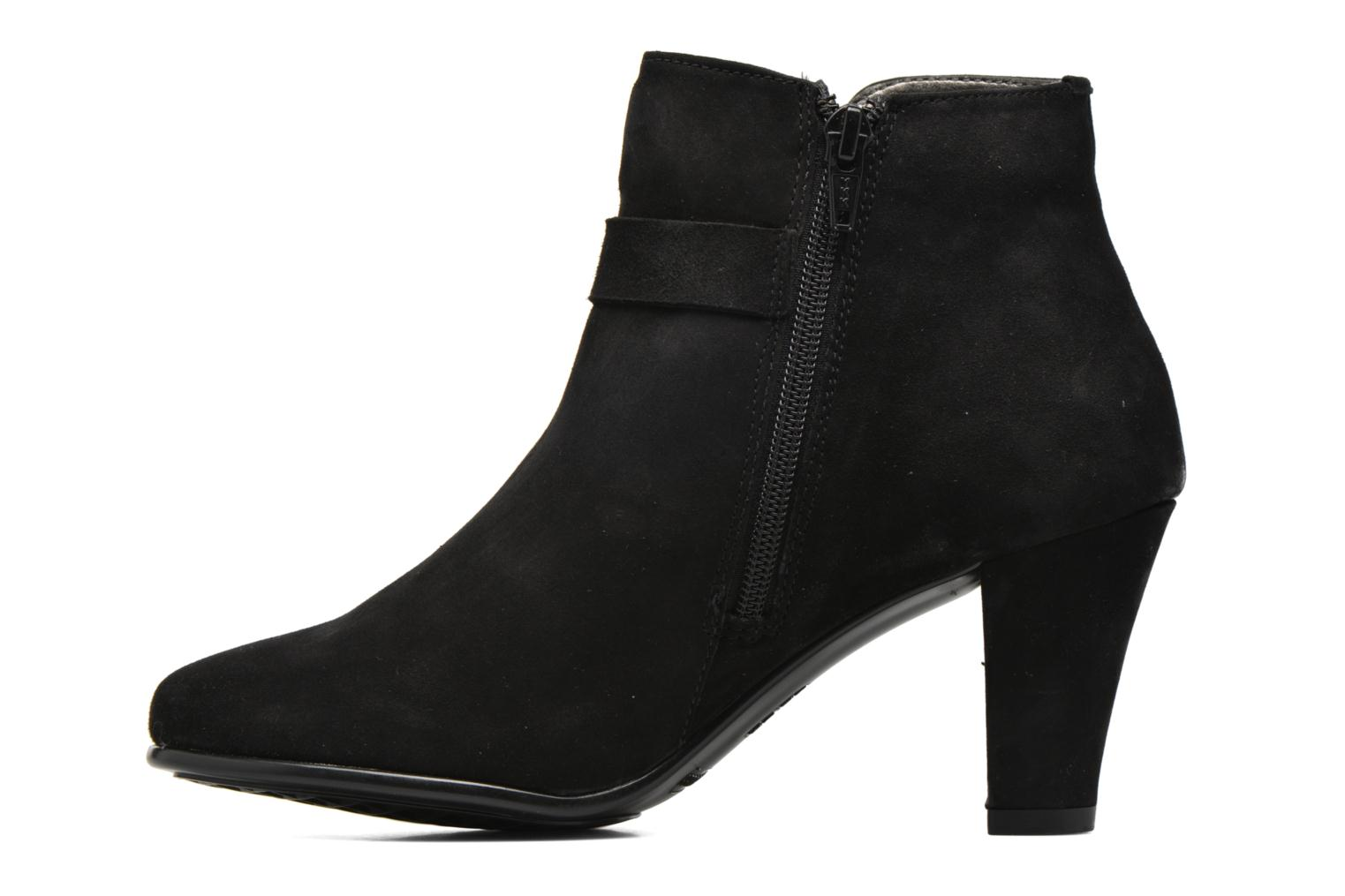 Ankle boots Aerosoles Adopted Black front view