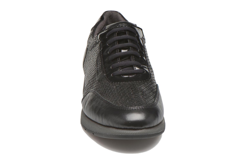 Baskets Aerosoles Better Off Noir vue portées chaussures