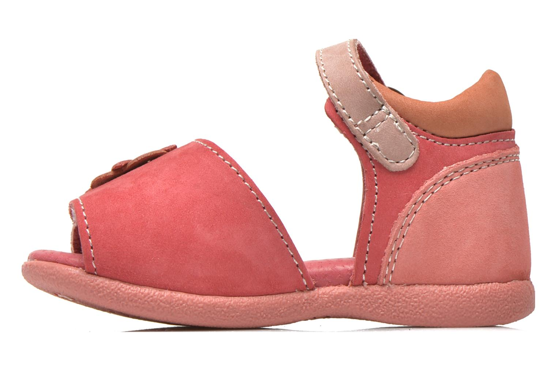 Sandales et nu-pieds Kickers Babygirl Rose vue face