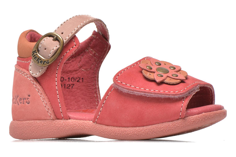 Sandales et nu-pieds Kickers Babygirl Rose vue derrière