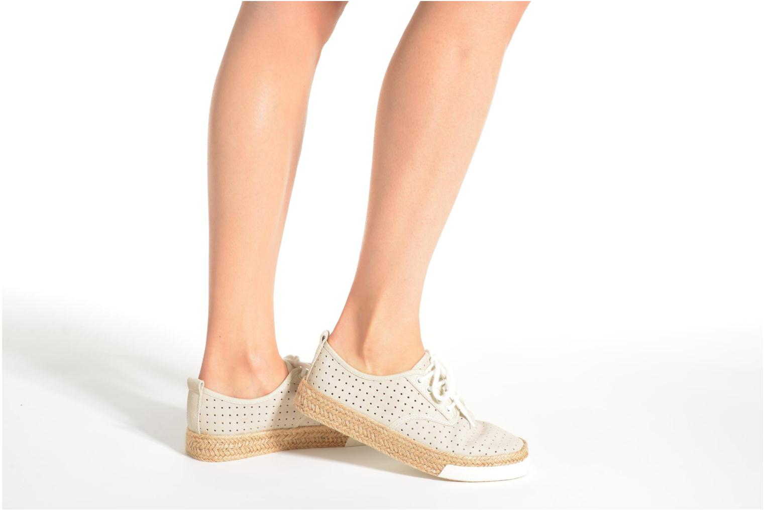 Espadrilles Pare Gabia Alto Brown view from underneath / model view