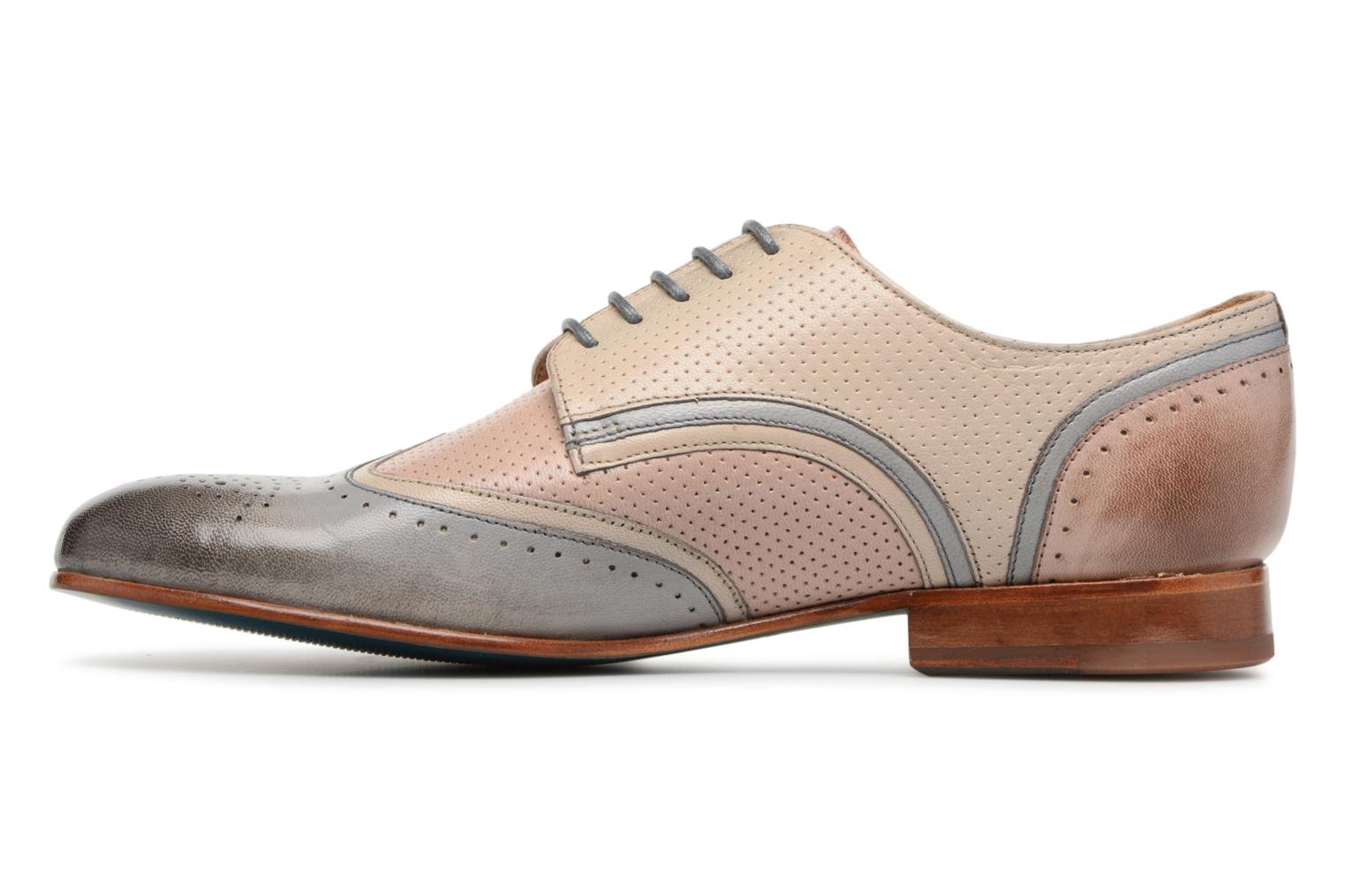 Lace-up shoes Melvin & Hamilton Sally 15 Beige front view