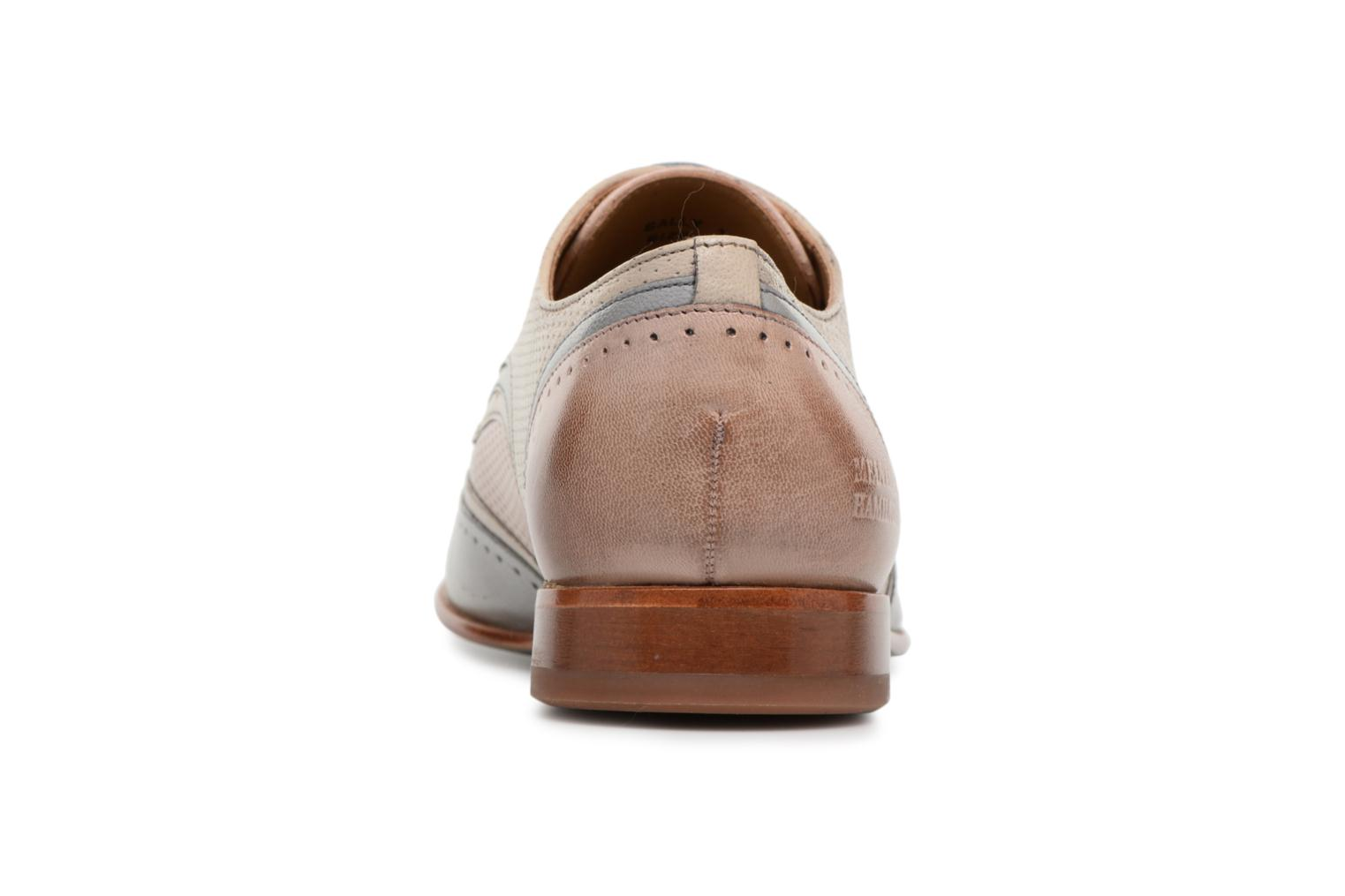 Lace-up shoes Melvin & Hamilton Sally 15 Beige view from the right