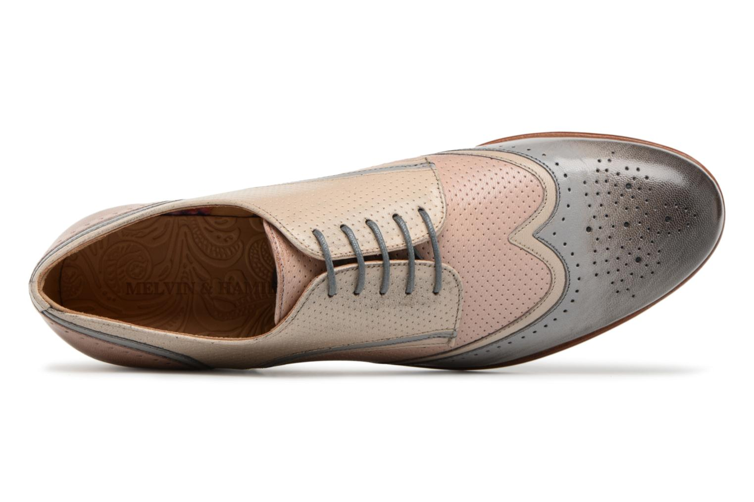 Lace-up shoes Melvin & Hamilton Sally 15 Beige view from the left