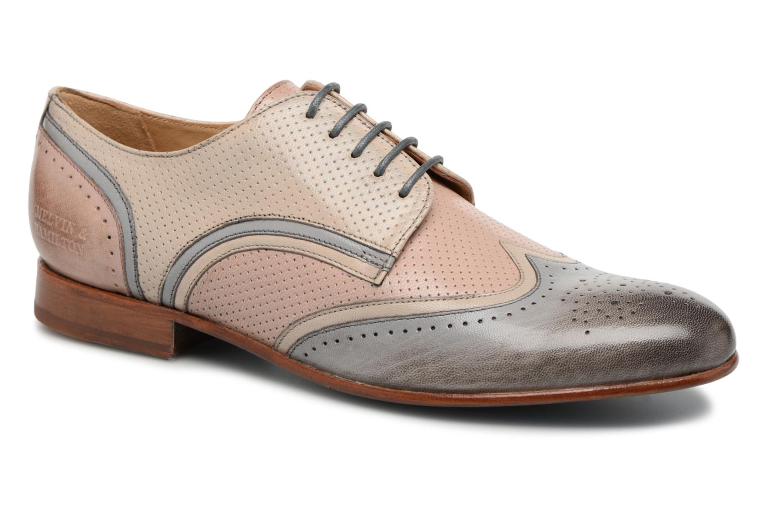 Lace-up shoes Melvin & Hamilton Sally 15 Beige detailed view/ Pair view