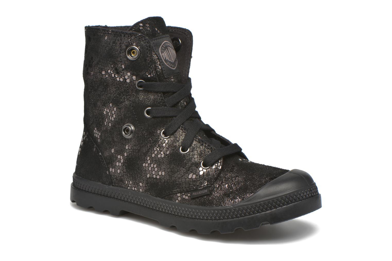 Bottines et boots Palladium Baggy Lo LP SP F Noir vue 3/4