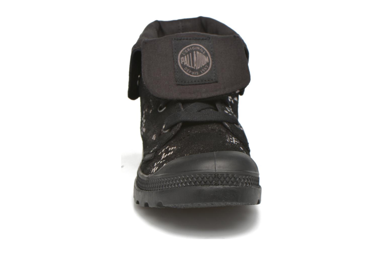 Bottines et boots Palladium Baggy Lo LP SP F Noir vue portées chaussures