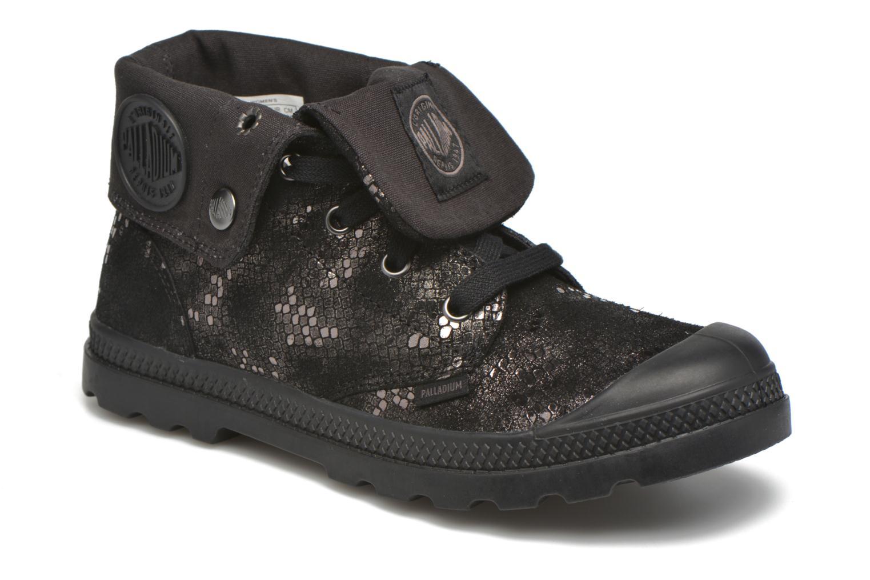 Bottines et boots Palladium Baggy Lo LP SP F Noir vue détail/paire