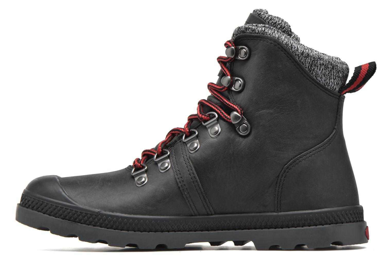 Ankle boots Palladium Pallab Hk LP F Black front view