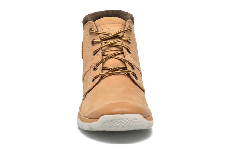 Bottines et boots Palladium Palavil D Cuf F Marron vue portées chaussures