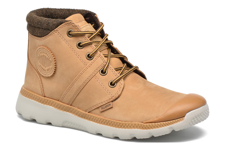 Bottines et boots Palladium Palavil D Cuf F Marron vue détail/paire