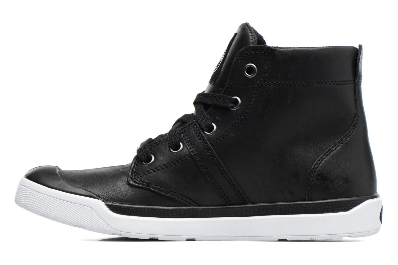 Boots en enkellaarsjes Palladium Palaru HI Lea F Zwart voorkant