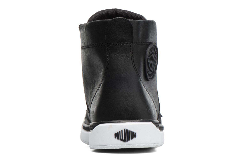 Bottines et boots Palladium Palaru HI Lea F Noir vue droite