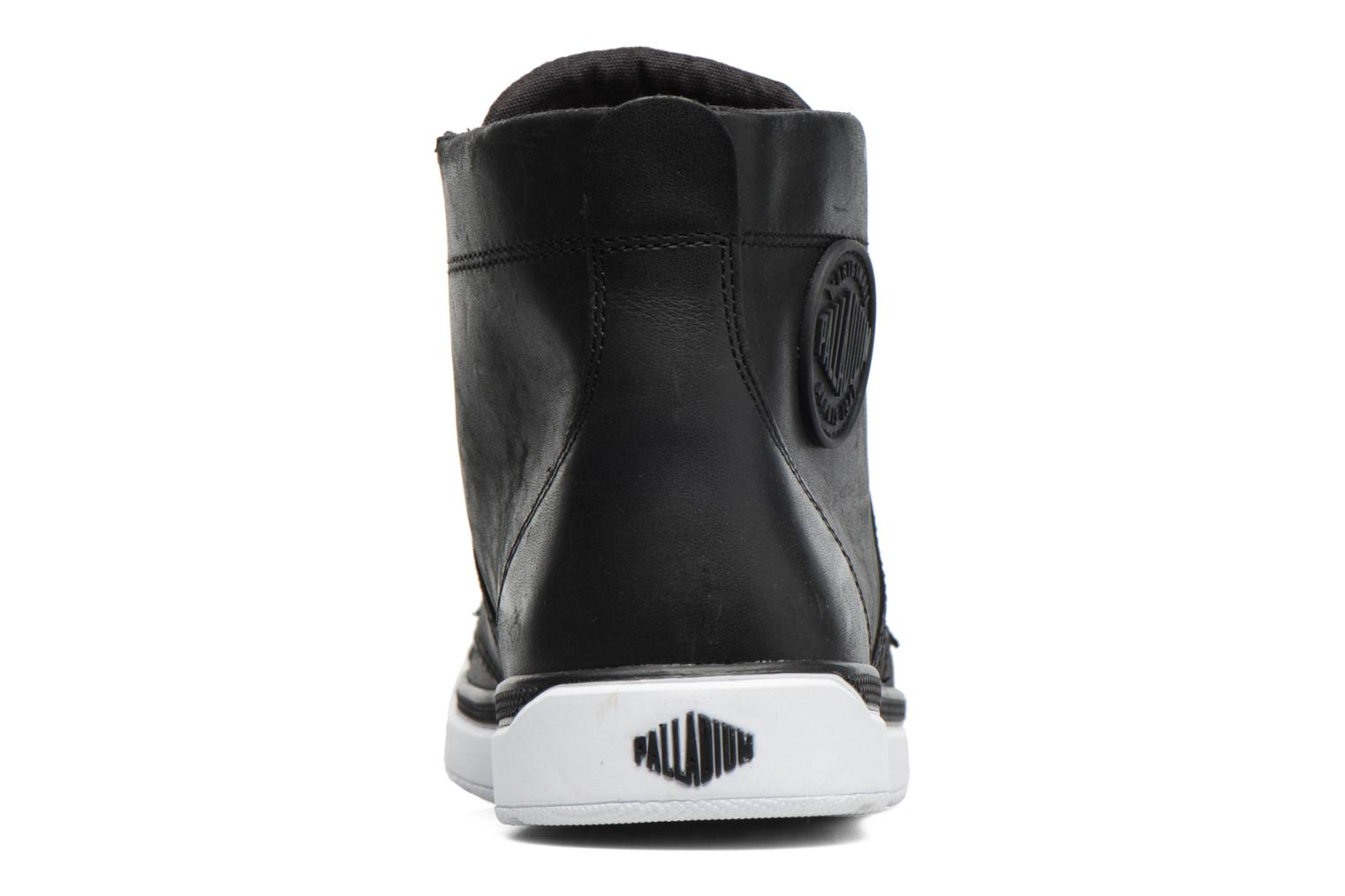 Ankle boots Palladium Palaru HI Lea F Black view from the right