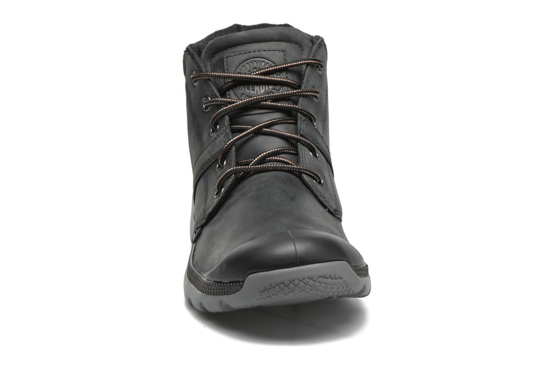 Chaussures à lacets Palladium Palavil Hi L H Noir vue portées chaussures