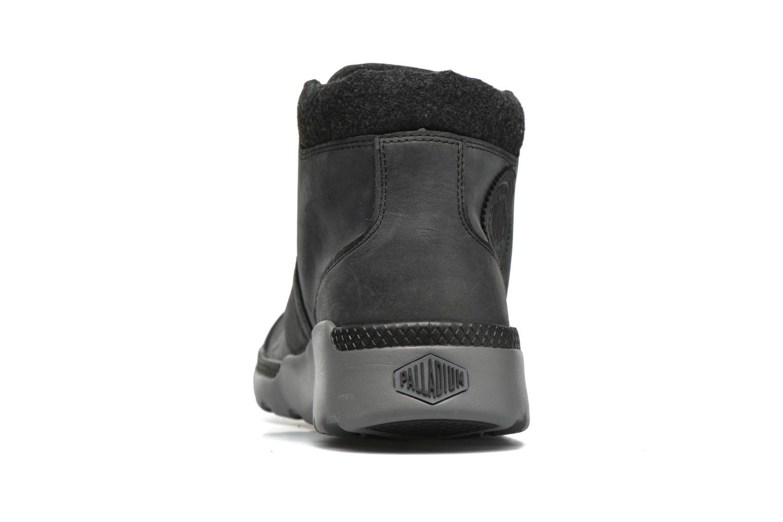 Chaussures à lacets Palladium Palavil Hi L H Noir vue droite