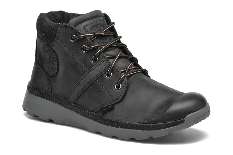 Chaussures à lacets Palladium Palavil Hi L H Noir vue détail/paire
