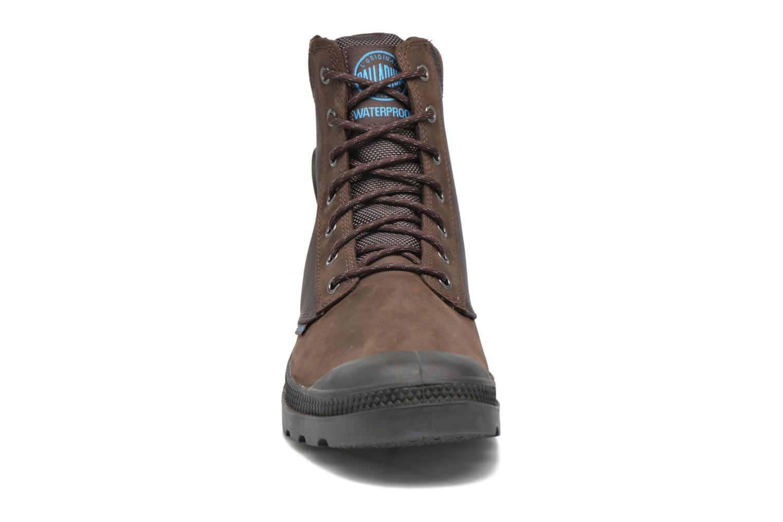 Bottines et boots Palladium Spo Cu Wp Marron vue portées chaussures