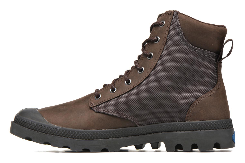 Bottines et boots Palladium Spo Cu Wp Marron vue face