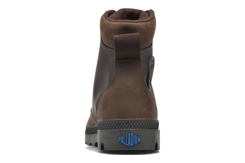 Bottines et boots Palladium Spo Cu Wp Marron vue droite