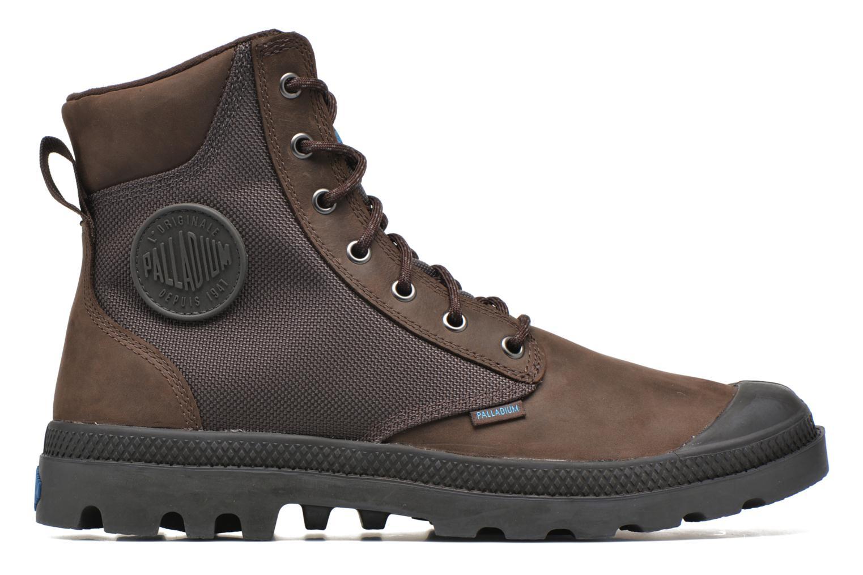 Bottines et boots Palladium Spo Cu Wp Marron vue derrière