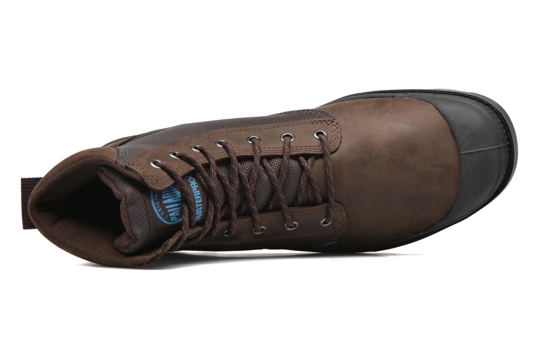 Bottines et boots Palladium Spo Cu Wp Marron vue gauche