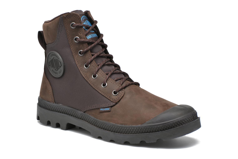 Bottines et boots Palladium Spo Cu Wp Marron vue détail/paire