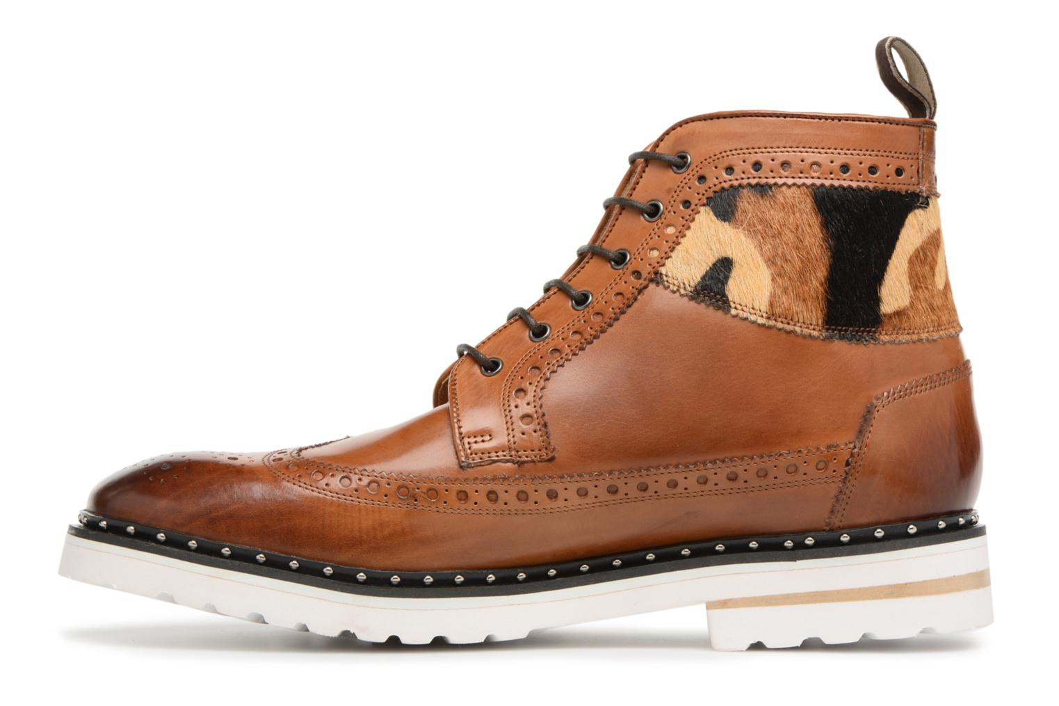 Lace-up shoes Melvin & Hamilton Matthew 9 Brown front view