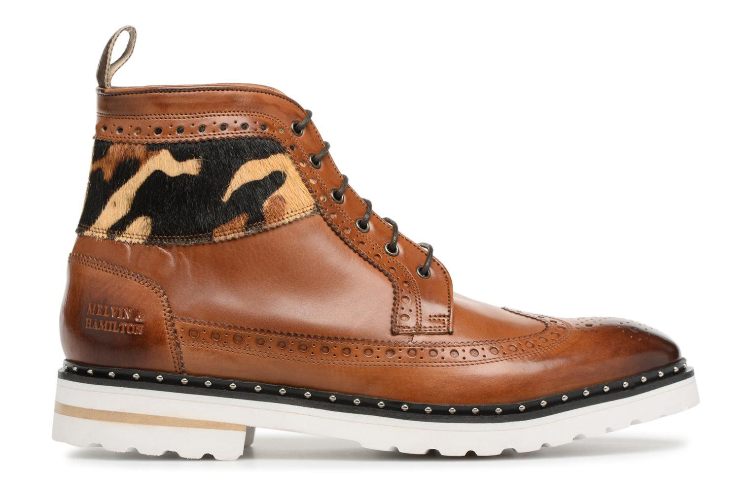 Lace-up shoes Melvin & Hamilton Matthew 9 Brown back view