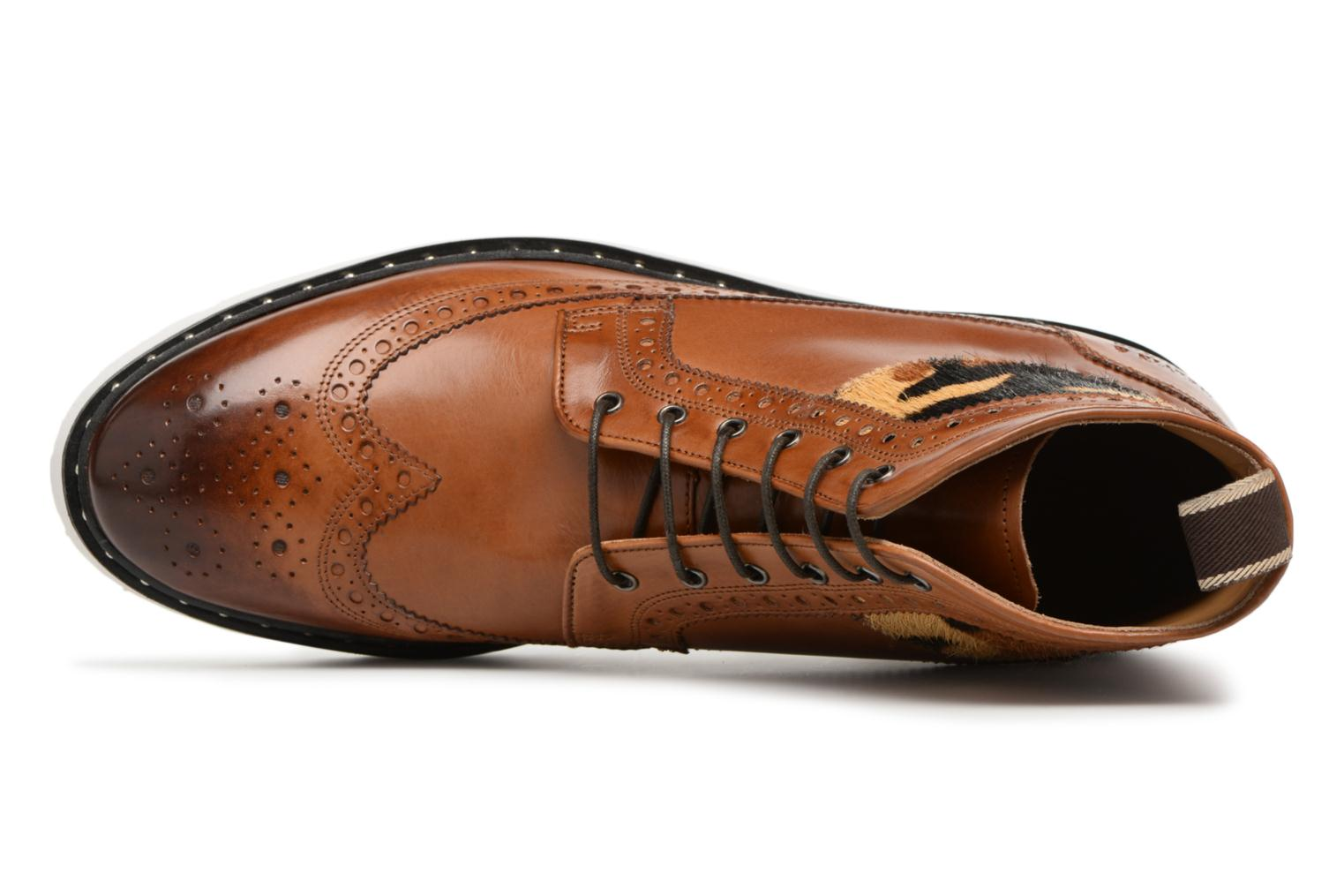 Lace-up shoes Melvin & Hamilton Matthew 9 Brown view from the left