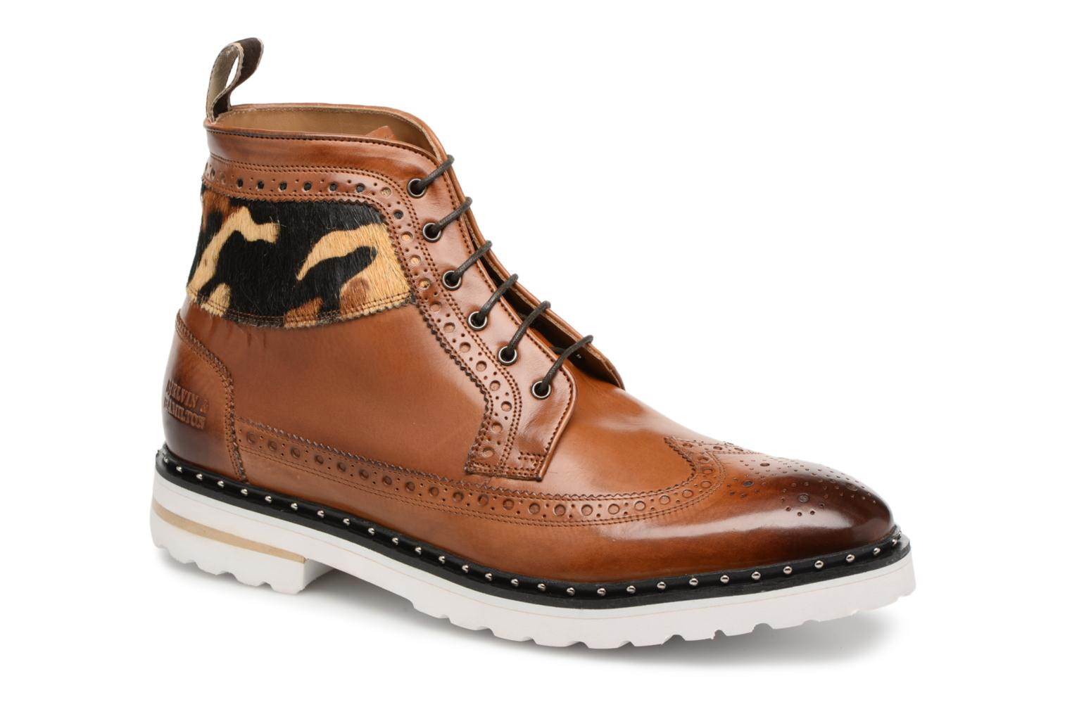 Lace-up shoes Melvin & Hamilton Matthew 9 Brown detailed view/ Pair view