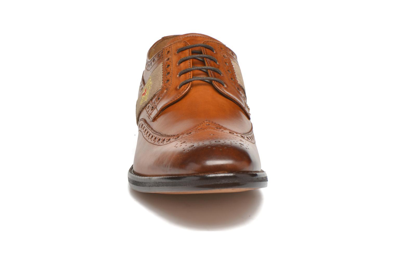 Chaussures à lacets Melvin & Hamilton Eddy R/25 Marron vue portées chaussures