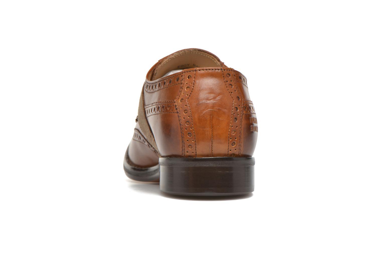 Chaussures à lacets Melvin & Hamilton Eddy R/25 Marron vue droite