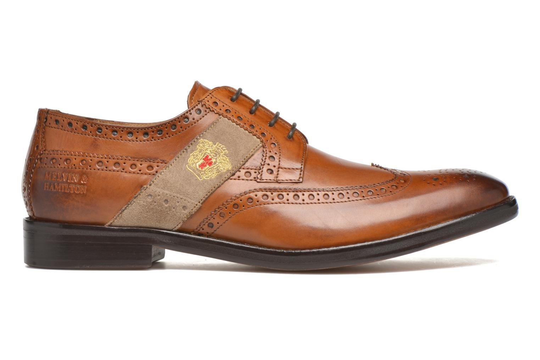 Chaussures à lacets Melvin & Hamilton Eddy R/25 Marron vue derrière