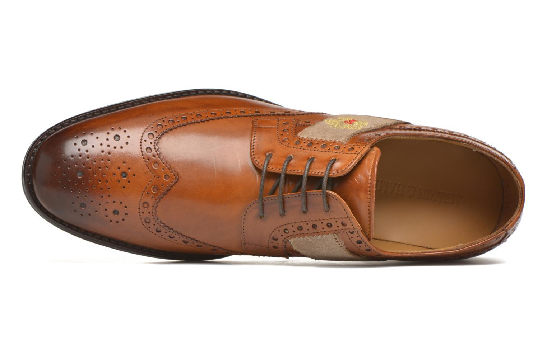 Chaussures à lacets Melvin & Hamilton Eddy R/25 Marron vue gauche