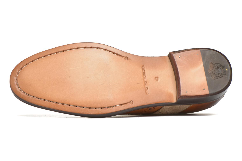 Chaussures à lacets Melvin & Hamilton Eddy R/25 Marron vue haut