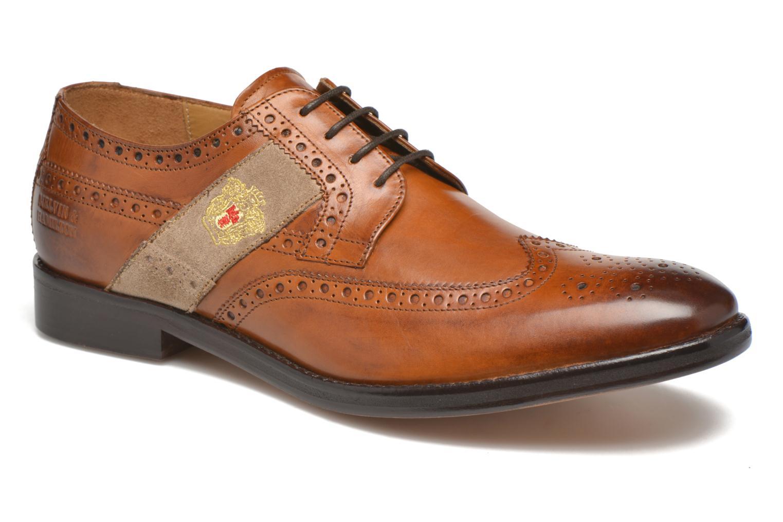 Chaussures à lacets Melvin & Hamilton Eddy R/25 Marron vue détail/paire