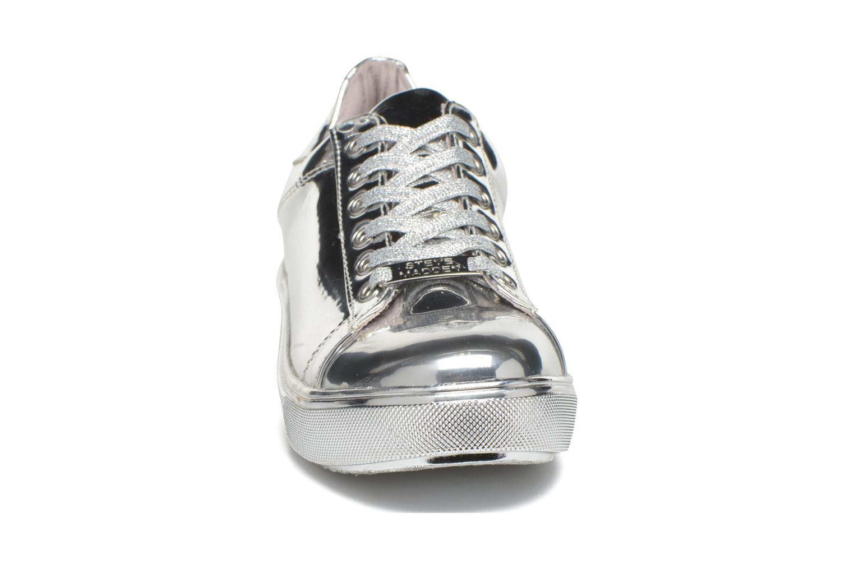Baskets Steve Madden Tinman Argent vue portées chaussures