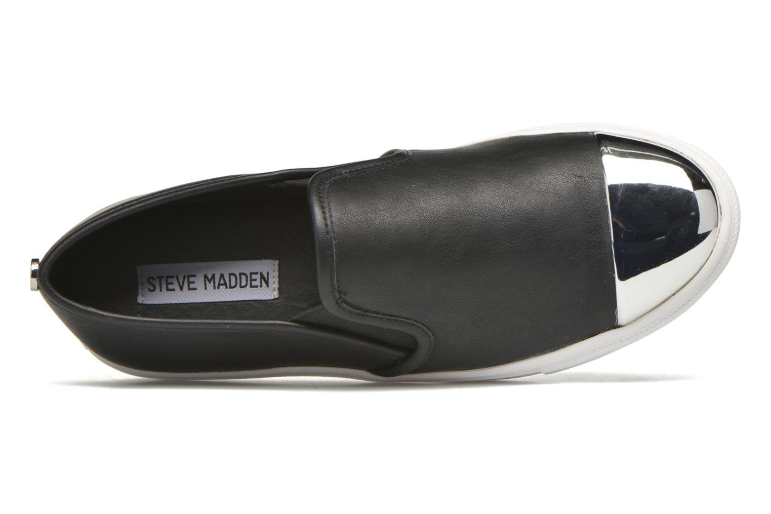 Trainers Steve Madden Eleete Black view from the left