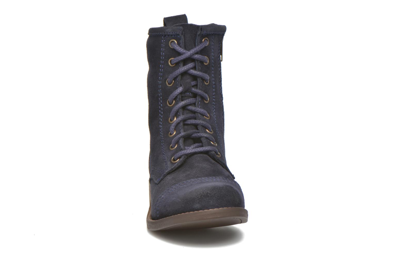 Stiefeletten & Boots Steve Madden Charrie blau schuhe getragen