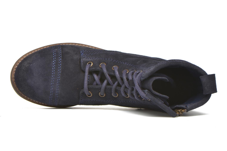Stiefeletten & Boots Steve Madden Charrie blau ansicht von links
