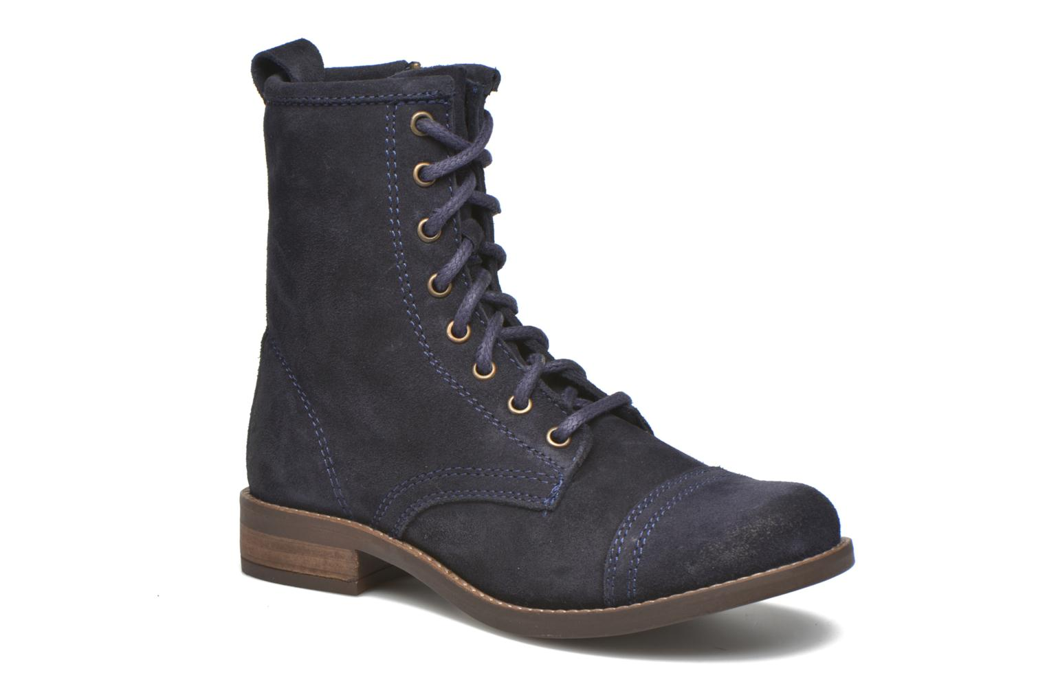 Charrie 04002 Navy Suede