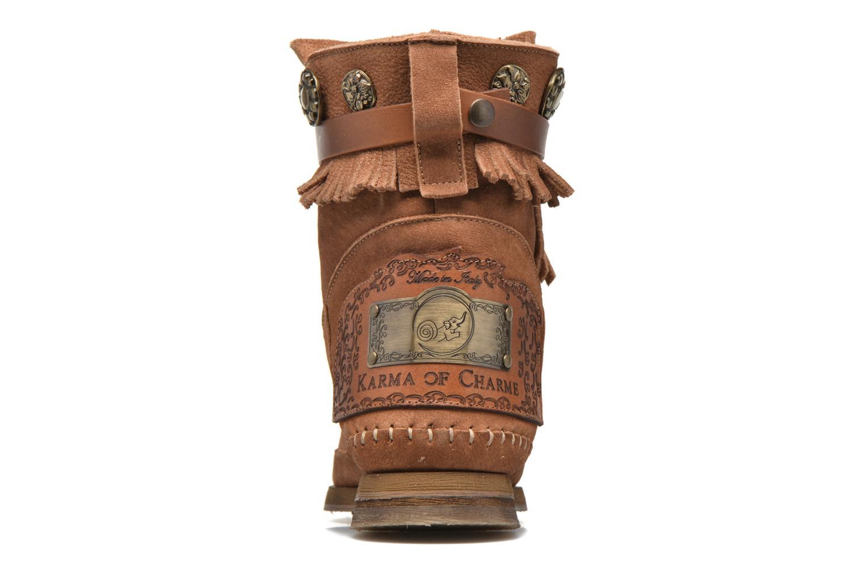 Bottines et boots Karma of Charme Way Belt Buf Marron vue droite