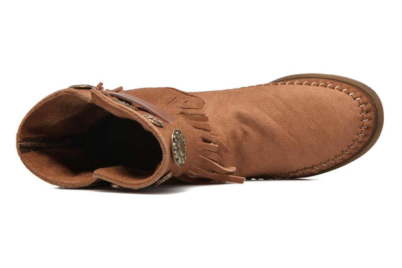 Bottines et boots Karma of Charme Way Belt Buf Marron vue gauche