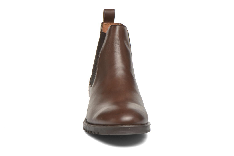 Bottines et boots Marvin&Co Ahsford Marron vue portées chaussures