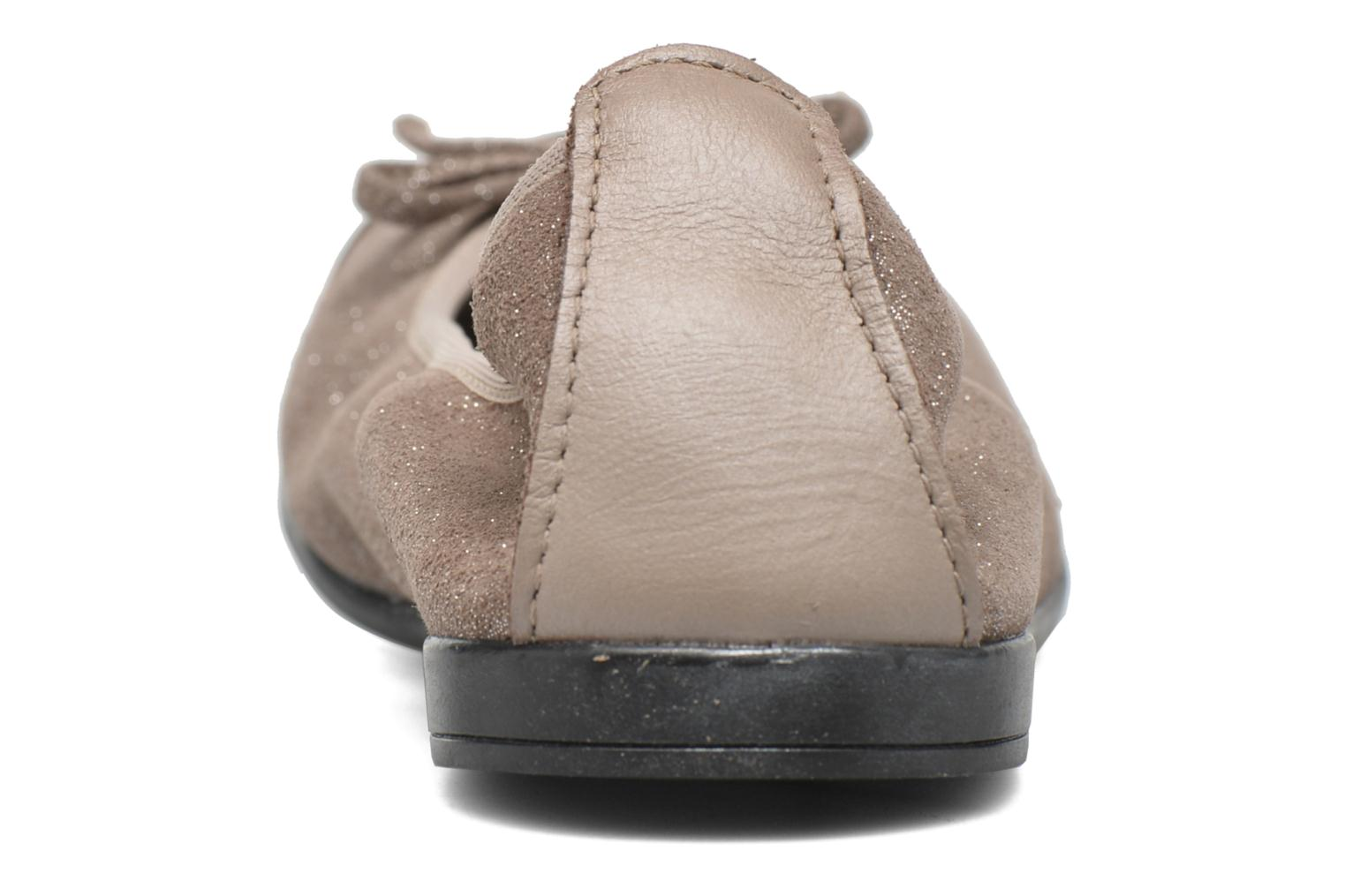 Ballet pumps Bopy Sarinza Beige view from the right