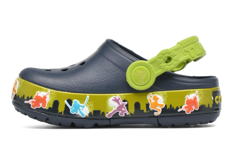 Sandales et nu-pieds Crocs Clights Bleu vue face