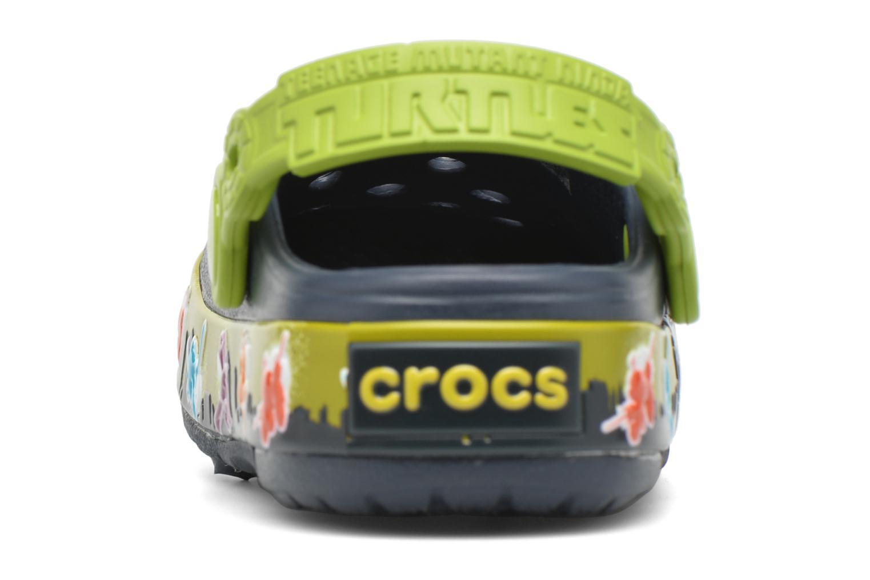 Sandales et nu-pieds Crocs Clights Bleu vue droite