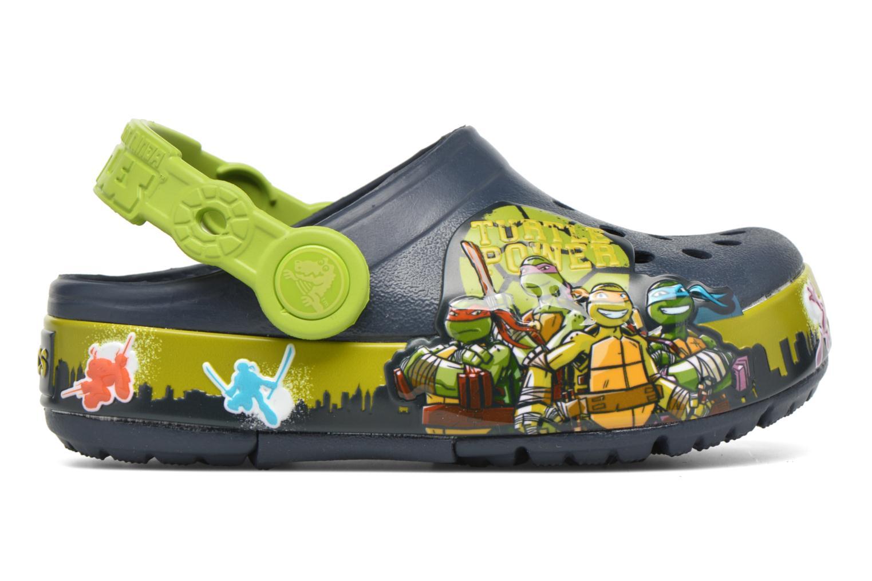 Sandales et nu-pieds Crocs Clights Bleu vue derrière