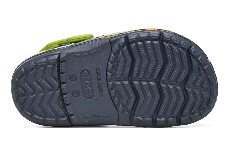 Sandales et nu-pieds Crocs Clights Bleu vue haut